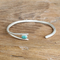 Silver/Turquoise