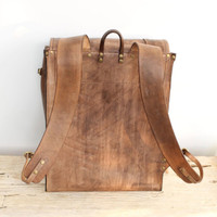 Mocha one of a kind backpack SS