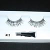 #12 Zebra Fake eyelashes