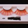 #24 PEACHES Fake eyelashes