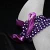 Purple kids pearl bracelet