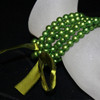 Green kids pearl bracelet