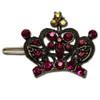 Princess crown hair clips