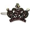 Princess tiara hair clips