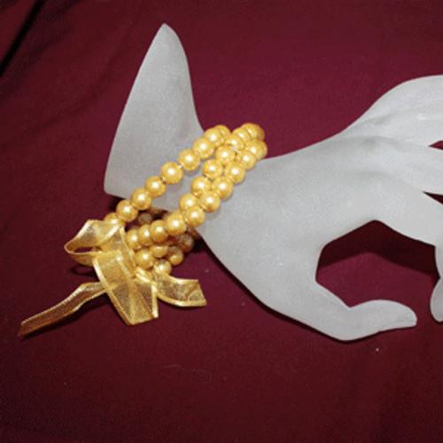 Champagne pearl bracelets