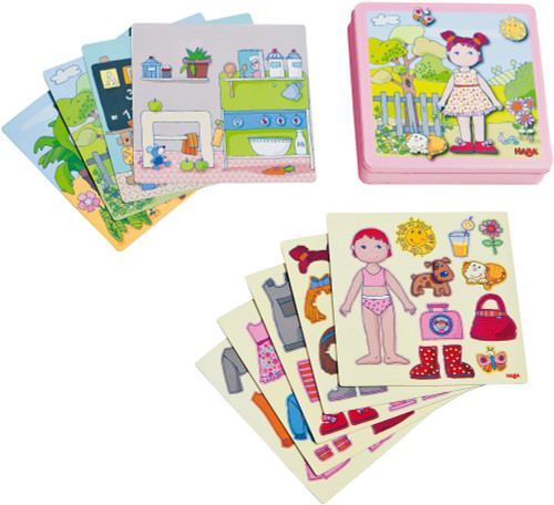 Dress-Up Doll Lilli Magnetic Game