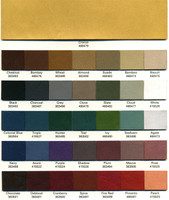 Omni Table Color Chart
