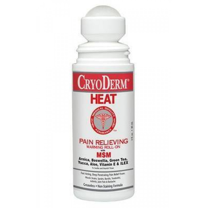 CRYODERM HEAT, 3OZ. ROLL ON