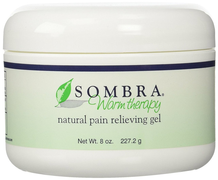 SOMBRA ORIGINAL WARM THERAPY NATURAL PAIN RELIEVING GEL, 8-OZ. JAR