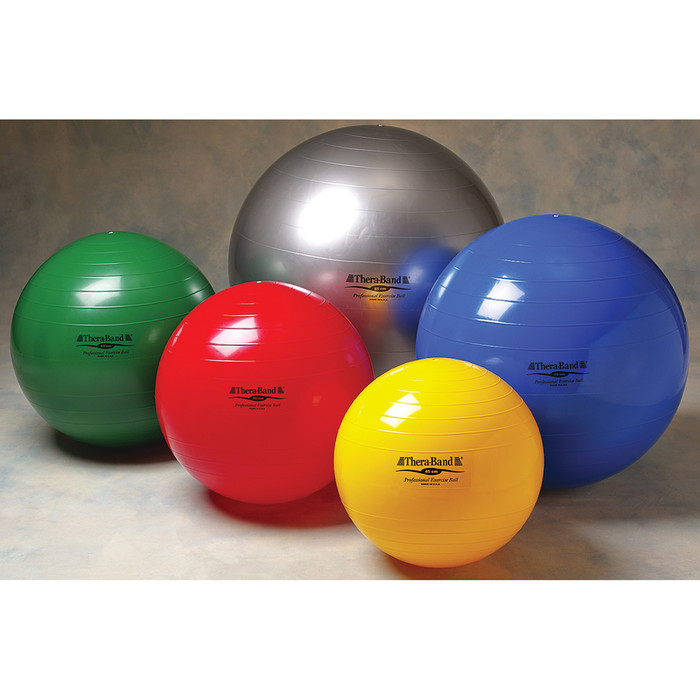 THERA-BAND EXERCISE BALL 85CM SILVER 75""
