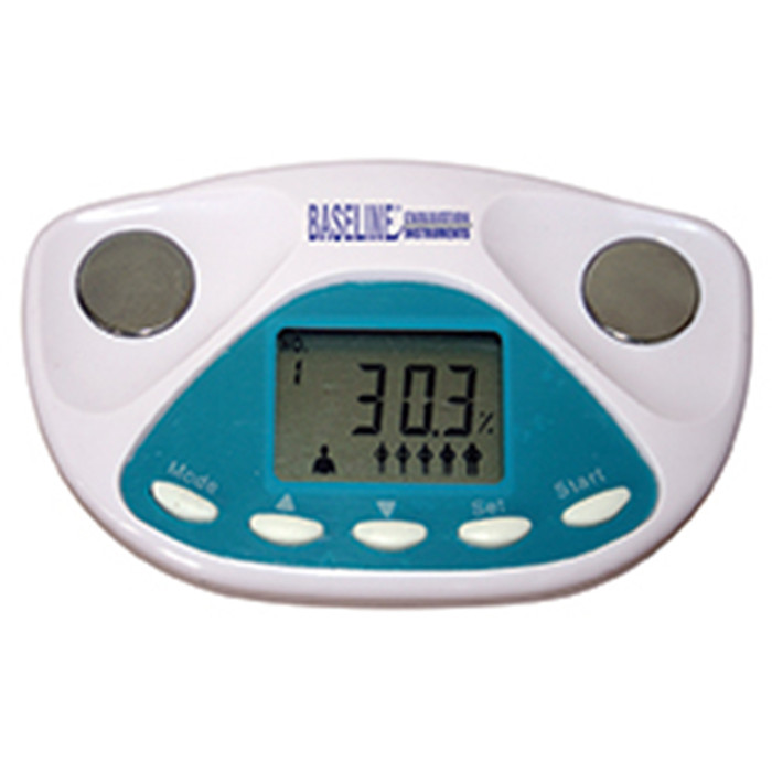 BASELINE BODY FAT ANALYZER, PALM SIZE