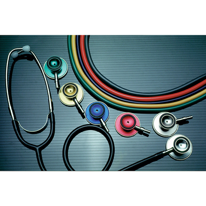 "STETHOSCOPE, DUAL HEAD, 22"", LATEX FREE"