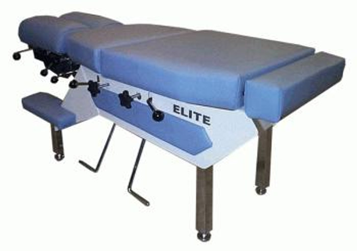 New Elite Pediatric Juniors Chiropractic Table