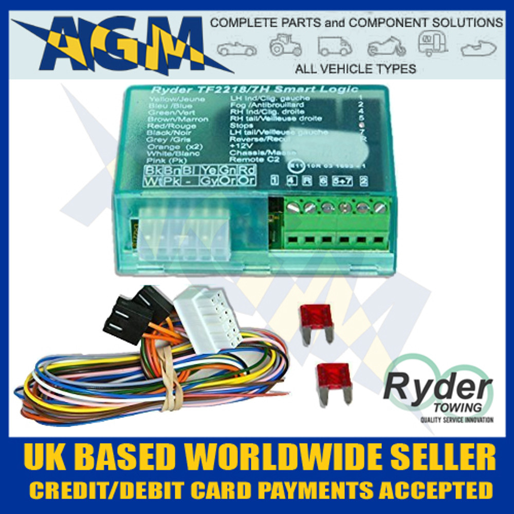 Ryder smart logic 7 way bypass relay tf22187e for can bus multi ryder smart logic bypass relay tf22187h can cheapraybanclubmaster Gallery