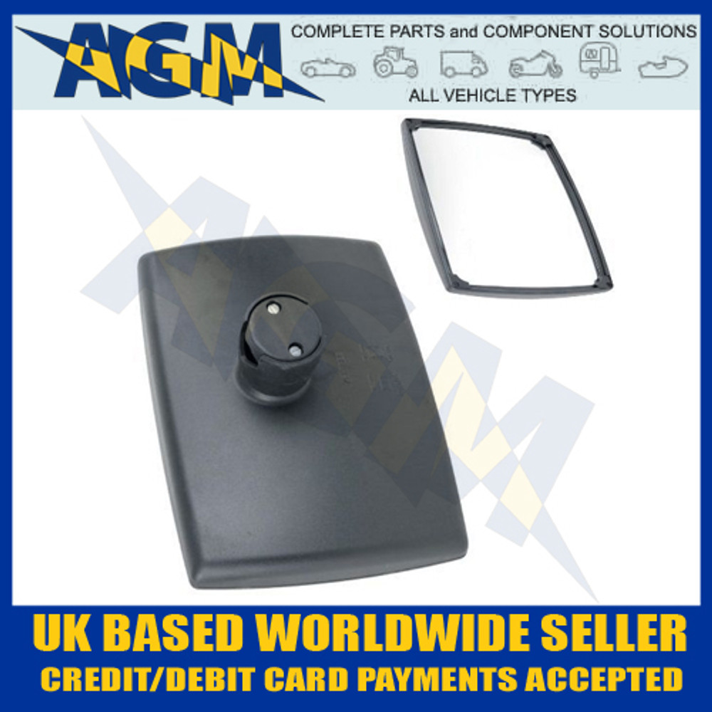 unitruck, u71306, 71306, john, deere, al78021, wing, rear, view, mirror, replacement, head, jcb