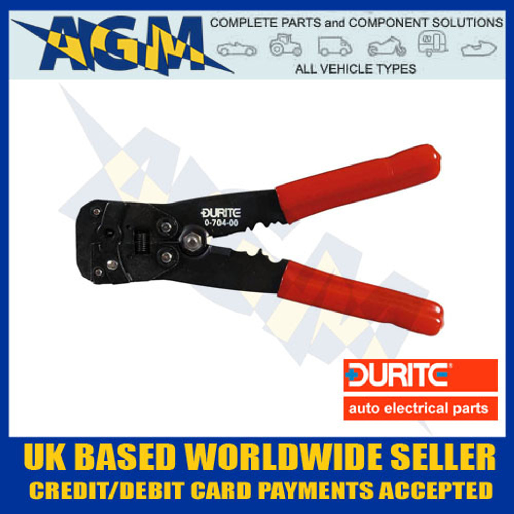 durite, 070400, 0-704-00, cable, cutting, stripping, tool