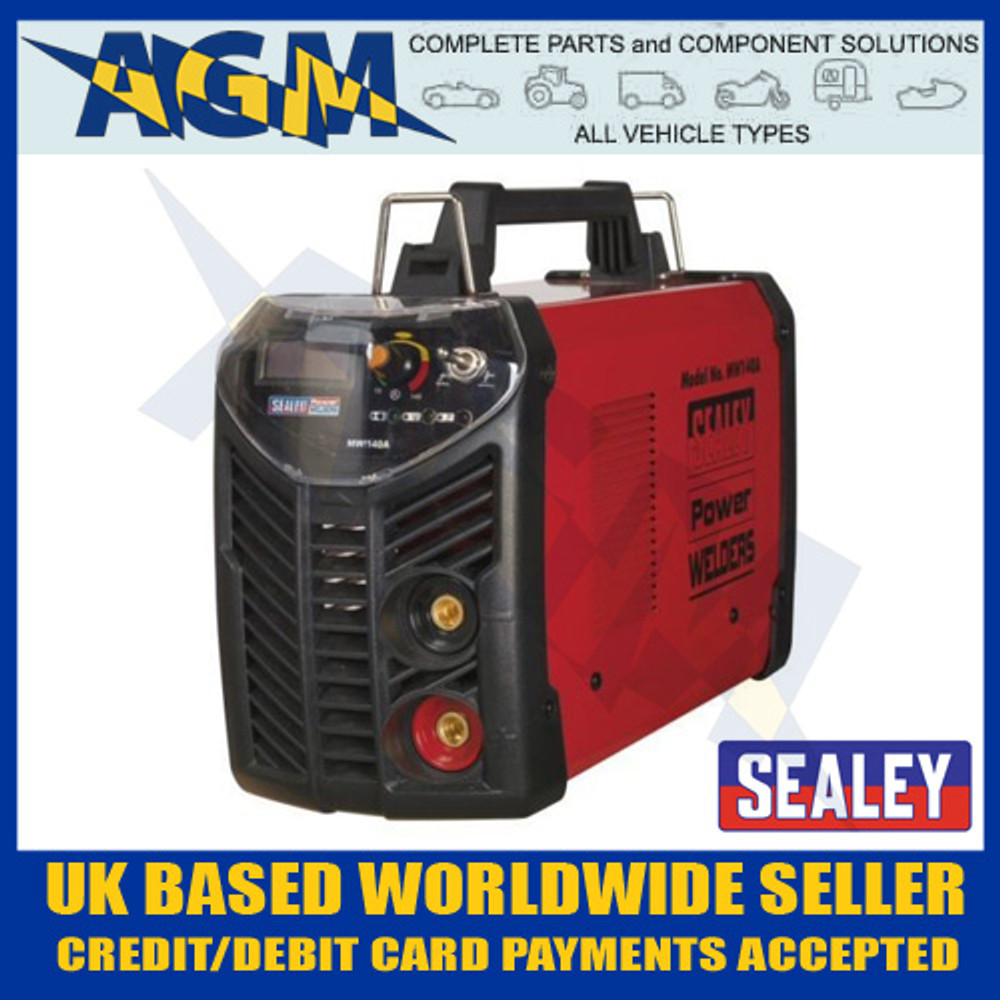 sealey, mw140a, 230v, 140a, inverter, welder, accessory, kit