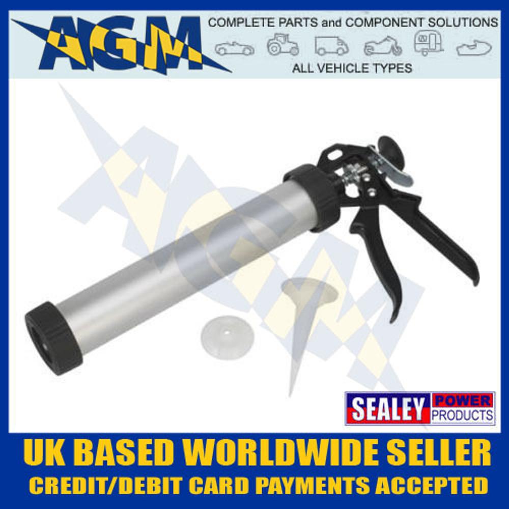 sealey, ak3803, sealant, caulking, gun, sausage, cartridge