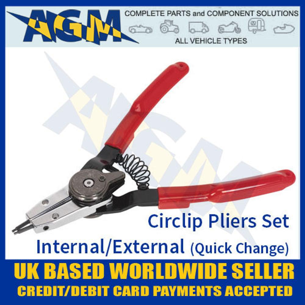 circlip, pliers, sealey, ak8453