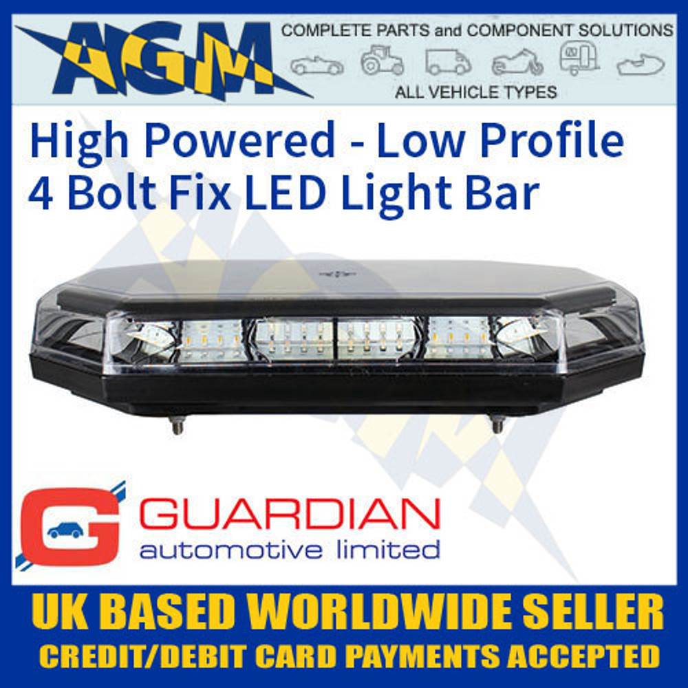 Amb115 4 bolt fix low profile high powered led light bar amb115 led light bar amb115 low profile led light bar mozeypictures Images