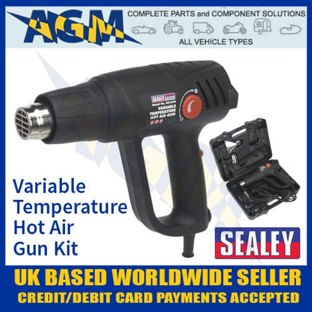 sealey, hs107k, hot, air, gun, kit