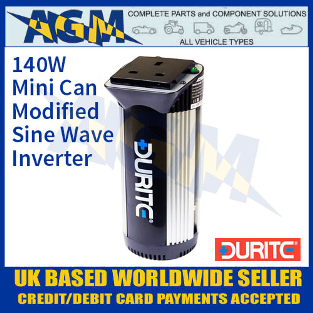 Durite 0-856-00 140W Mini Can Modified Wave Power Inverter