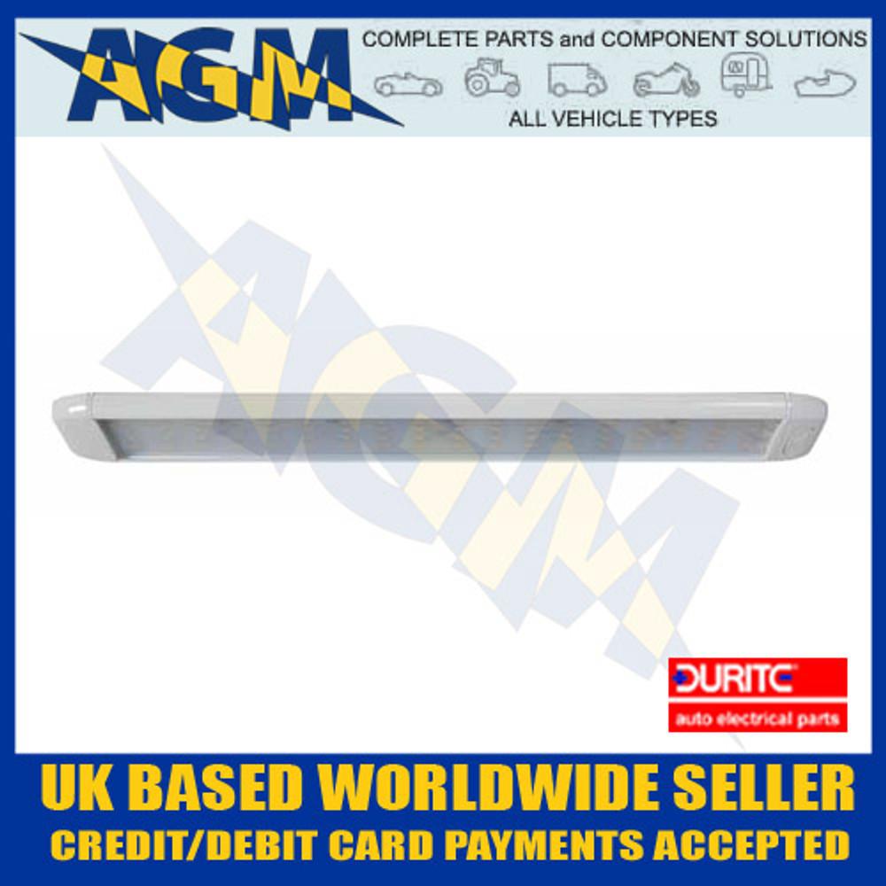 durite, 0-668-37, 066837, slim, 12v, 24v, led, bright, white, vehicle, roof, light