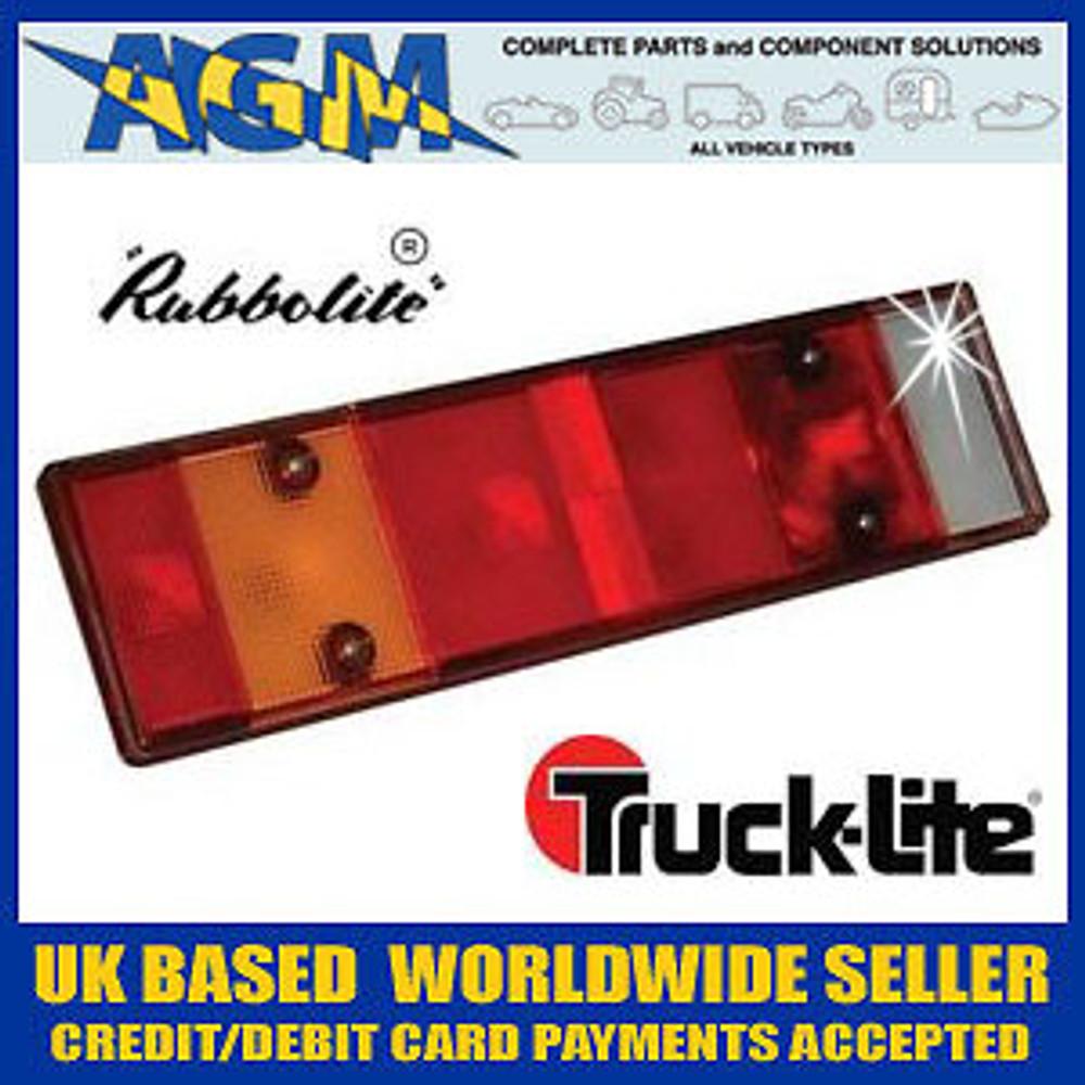 Rubbolite/Truck-Lite Genuine 6311A Lens for 360 Series Rear Lamp