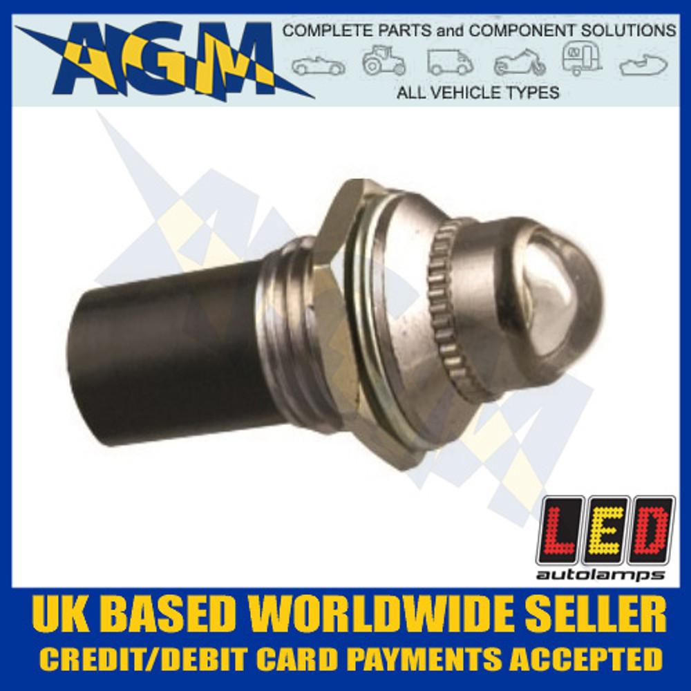 led, autolamps, plw12, white, 12v, pilot, light