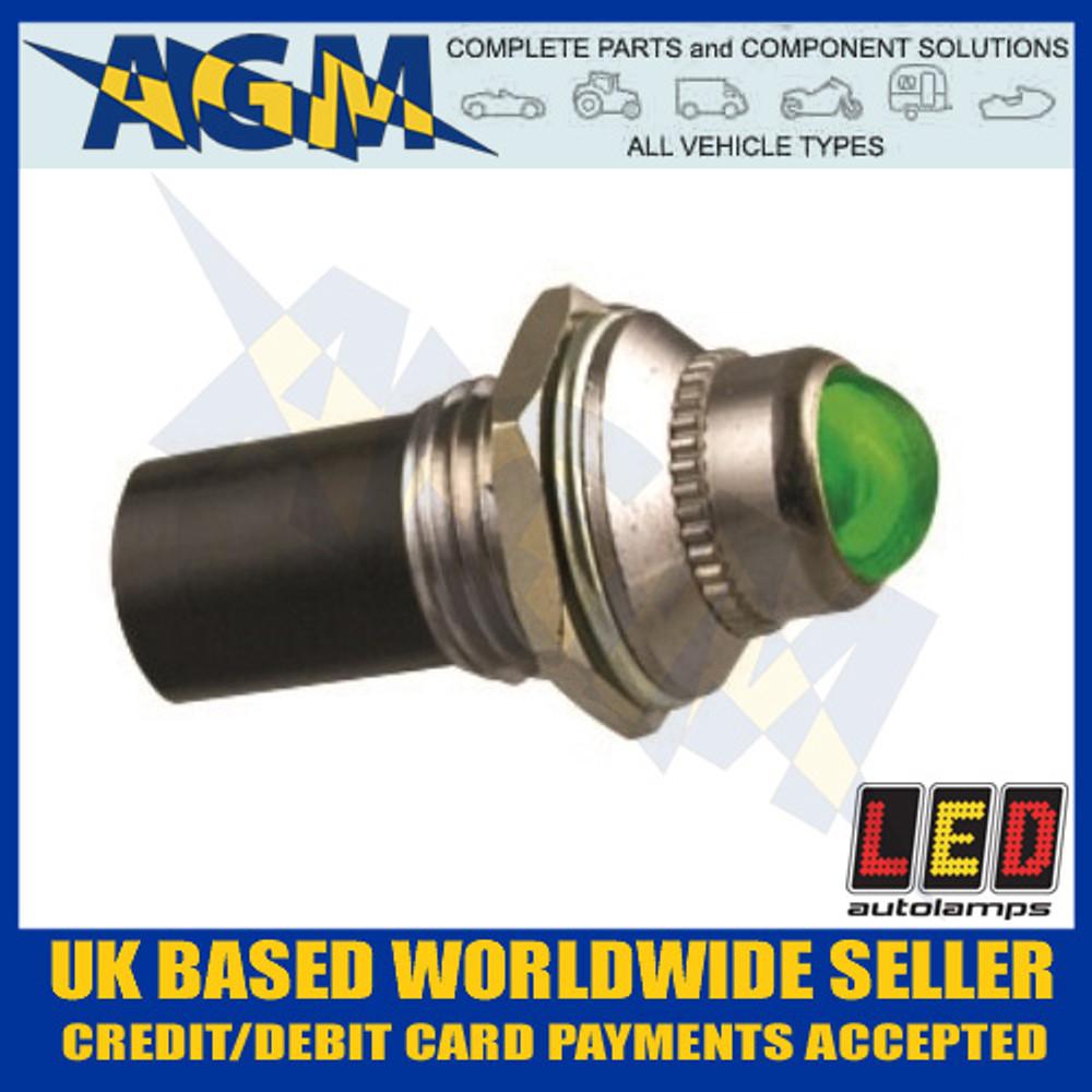 led, autolamps, plg24, green, 24v, pilot, light