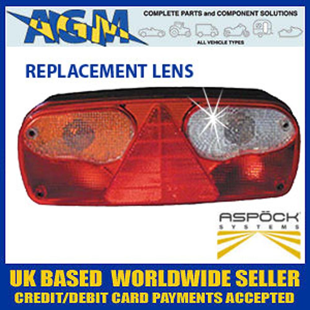 ASPOCK KLTF0200 Europoint 1 Rear Lamp Replacement Lens