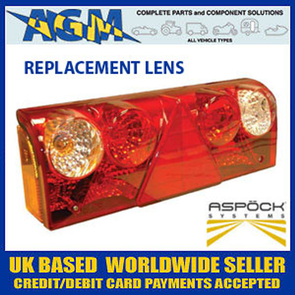 ASPOCK KLTF0679 Europoint 2 Rear Lamp Replacement Lens