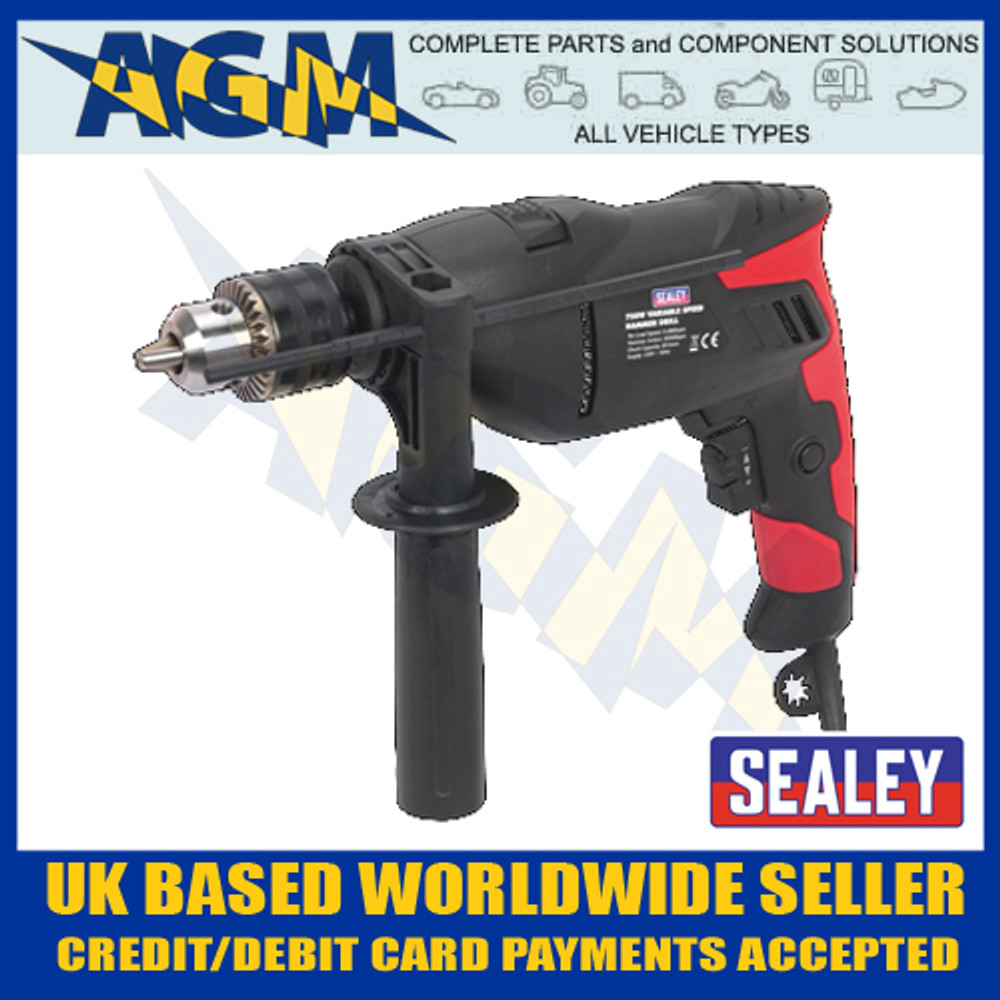 sealey, sd750, variable, speed, hammer, drill, 750w