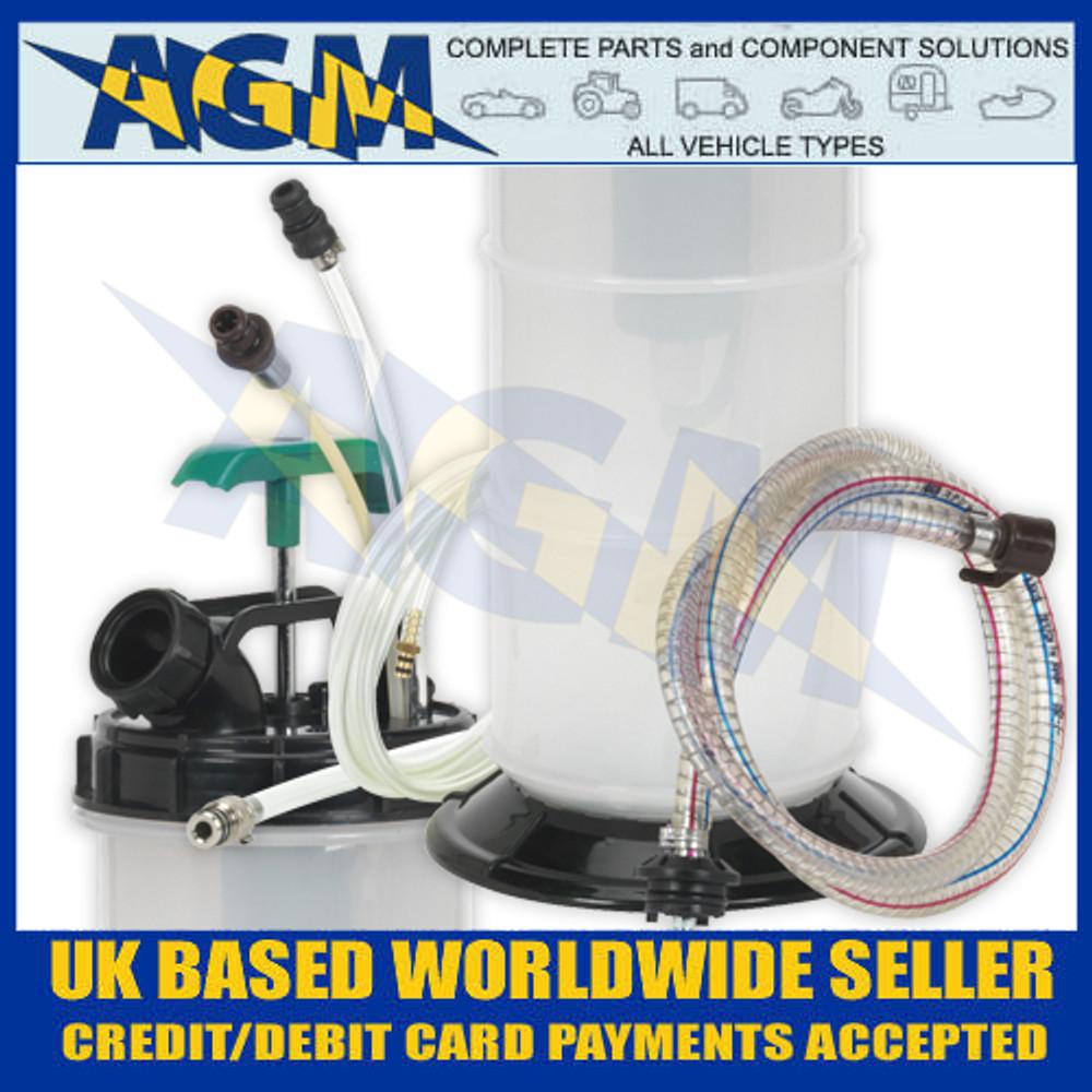 Sealey TP204 8 Litre Capacity Vacuum Oil/Fuel/Fluid Extractor - Close-Up