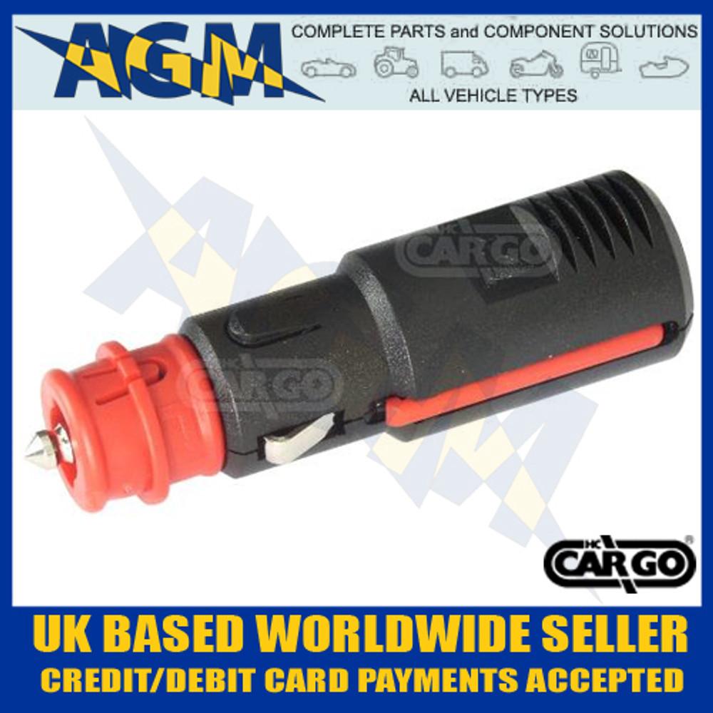 Cargo 180287 Din Cigar Lighter Sized Power Accessory Plug 8A Max