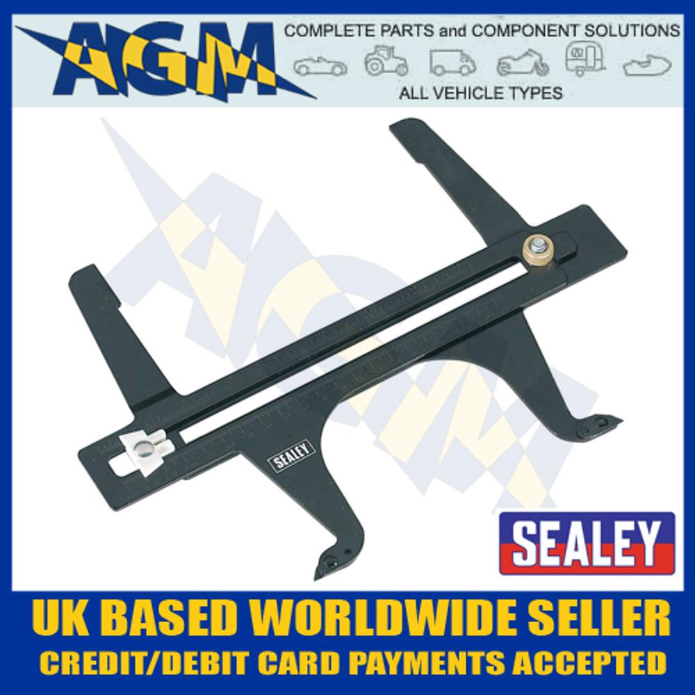 Sealey VS040 Brake Drum Measuring Calipers / Wear Gauge Metric / Imperial