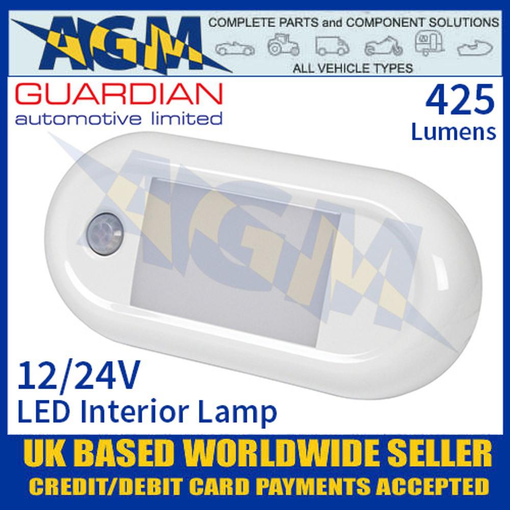 Guardian Automotive INT59 LED Interior Light with PIR Sensor 12/24V