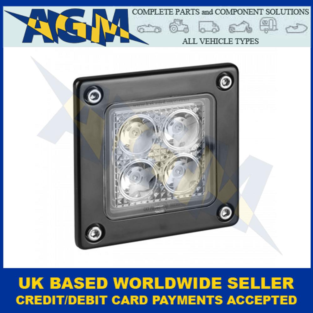 LED Autolamps 73120BM Square Flood/Reverse Lamp 9-30 Volt