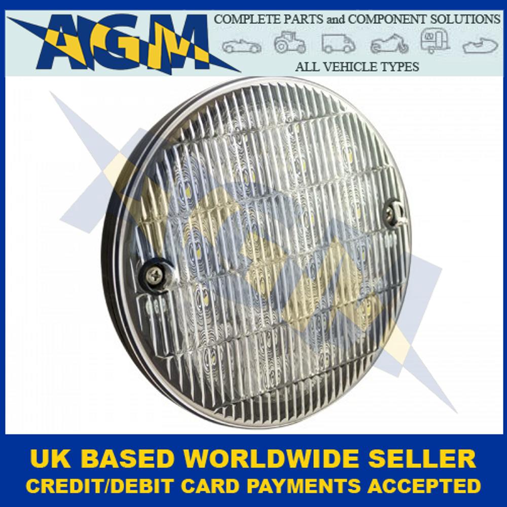 LED Autolamps HB140WM Slimline Hamburger Reverse Lamp 12-24 Volt