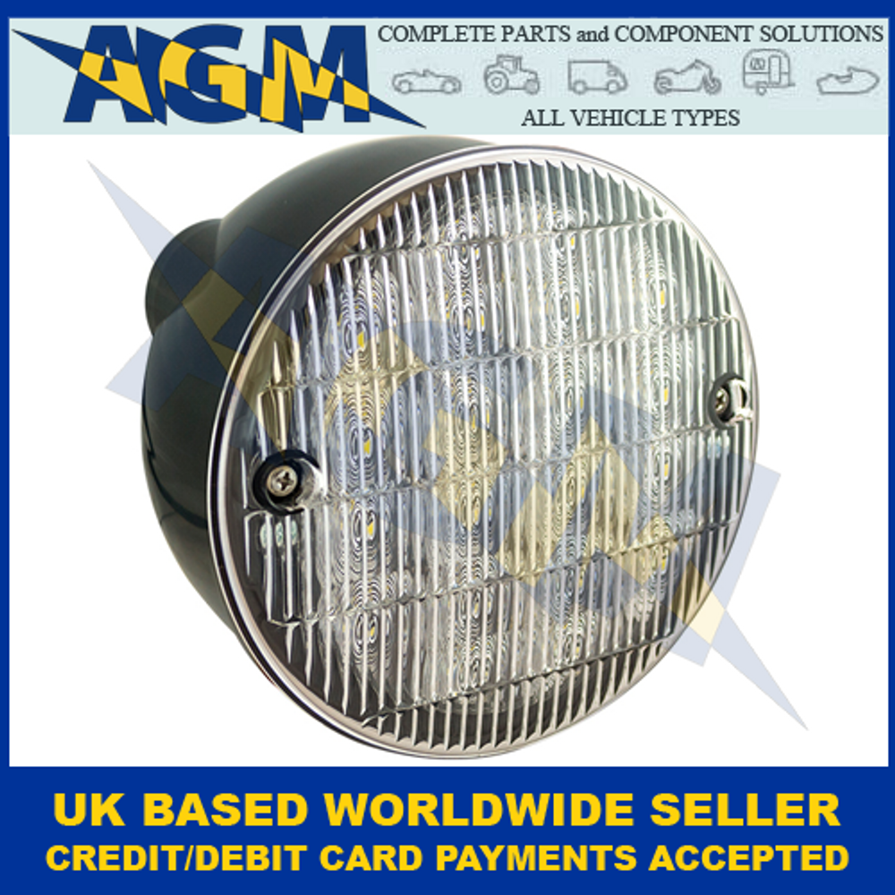 LED Autolamps HBL140WM Hamburger Reverse Lamp 12-24 Volt