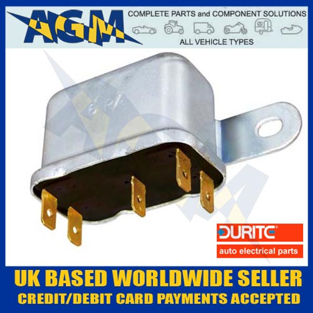 Durite 0-728-20, 20-30A, 6RA, Change Over Type Relay, 12v