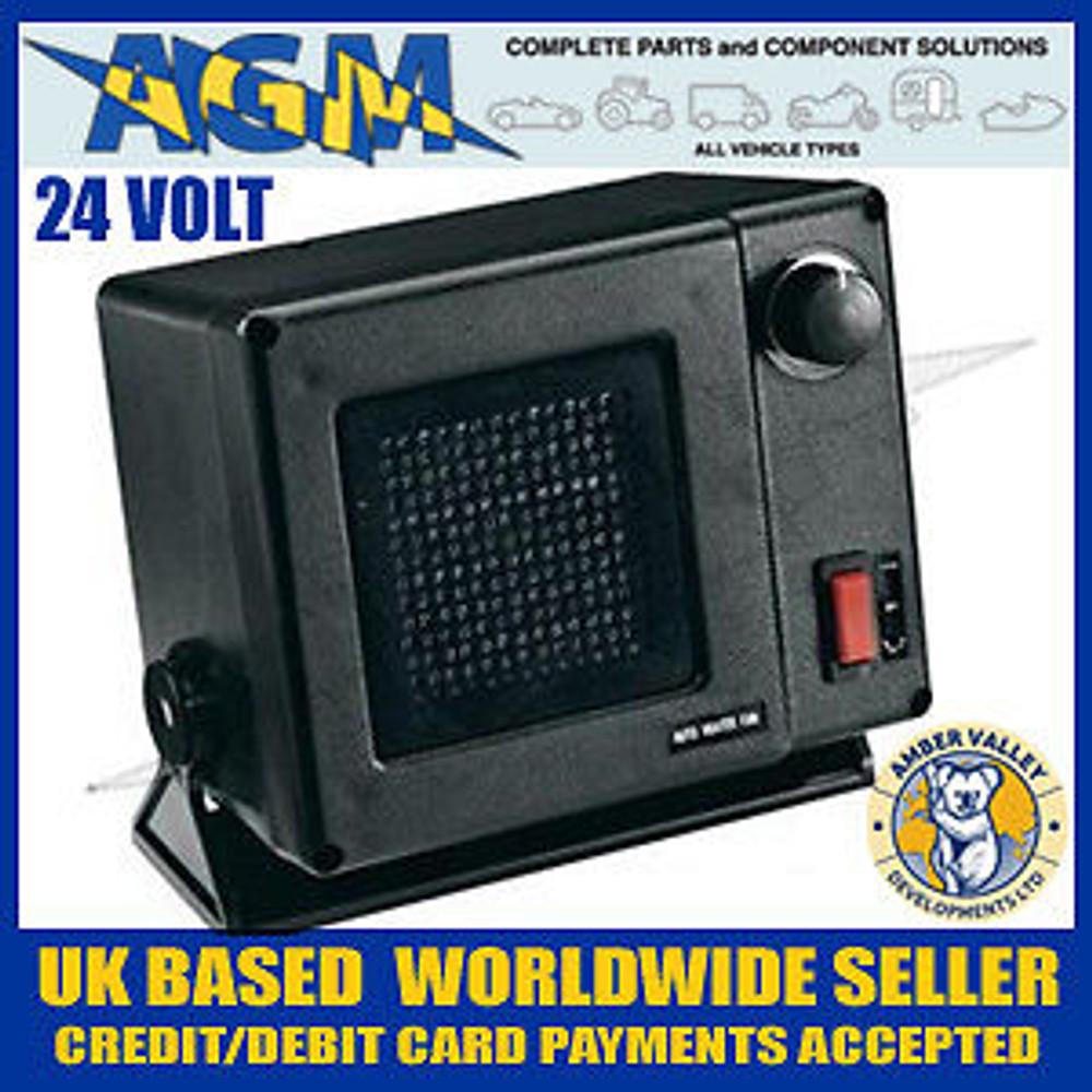 AMBER VALLEY AVFN 10/24 24volt 300W Ceramic Fan Heater