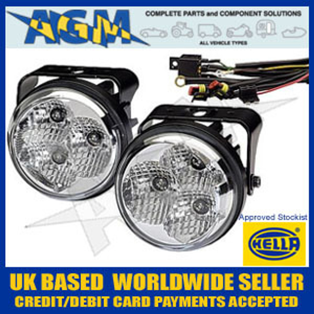 Brand New HELLA LED daytime running light set 12V and 24V
