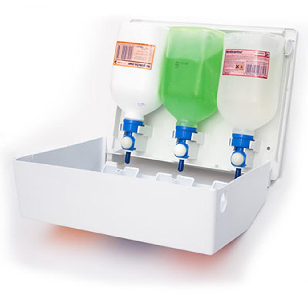 DEB SVC01SP Swarfega Van Cradle Waterless Hand Wash - Starter Kit