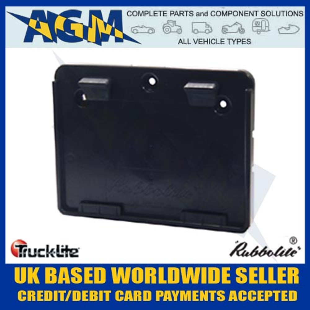 genuine trucklite 645/01/00 square trailer number  sc 1 st  AGM Complete Parts \u0026 Component Solutions Limited & Genuine Trucklite Rubbolite Square Trailer Number Registration Plate ...