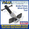 sealey, vs024, brake, piston, wind, back