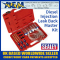 Sealey VS2048 Diesel Injection Leak Back Master Kit