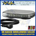 Led Auto-Lamps MLB246R10AMB-VM Magnetic Led Microbar, Super Low Profile, 12/24v