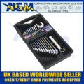 Sealey AK63261 Combination Spanner Set  'Metric' - Storage Tray