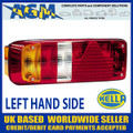 HELLA Replacement LEFT Lens for 2VP340930 and 2VP340932 Trailer Lamps
